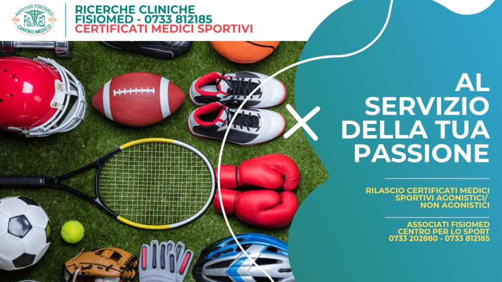 medicina dello sport civitanova ricerche cliniche fisiomed