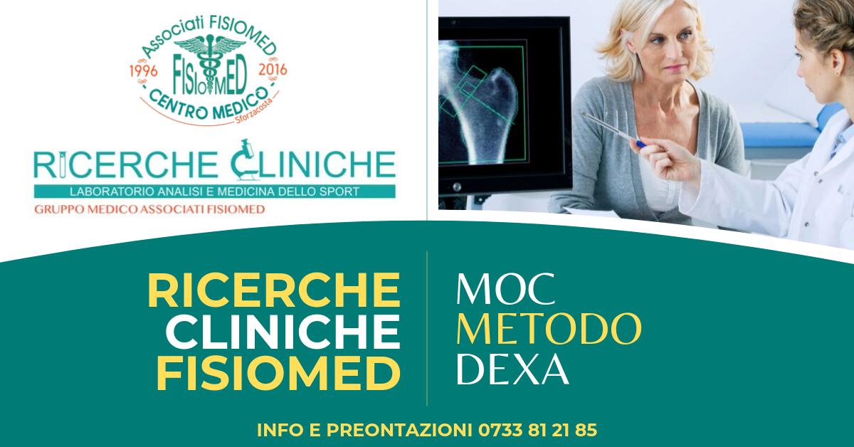 Moc metodo dexa ricerche cliniche fisiomed civitanova marche