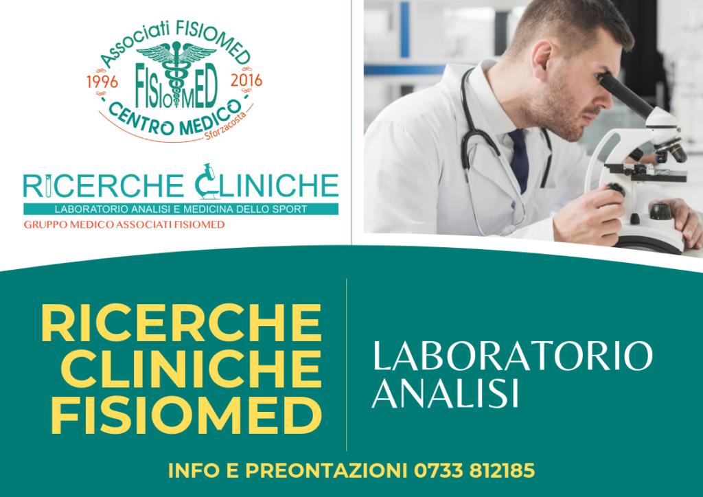 laboratorio analisi ricerche cliniche fisiomed civitanova marche
