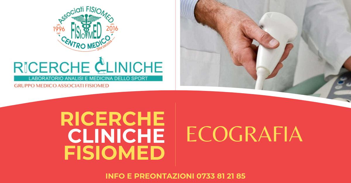 ECOGRAFIA CIVITANOVA ricerche cliniche fisiomed