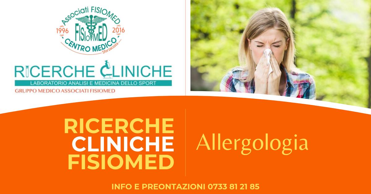 allergologo a civitanova ricerche cliniche fisiomed