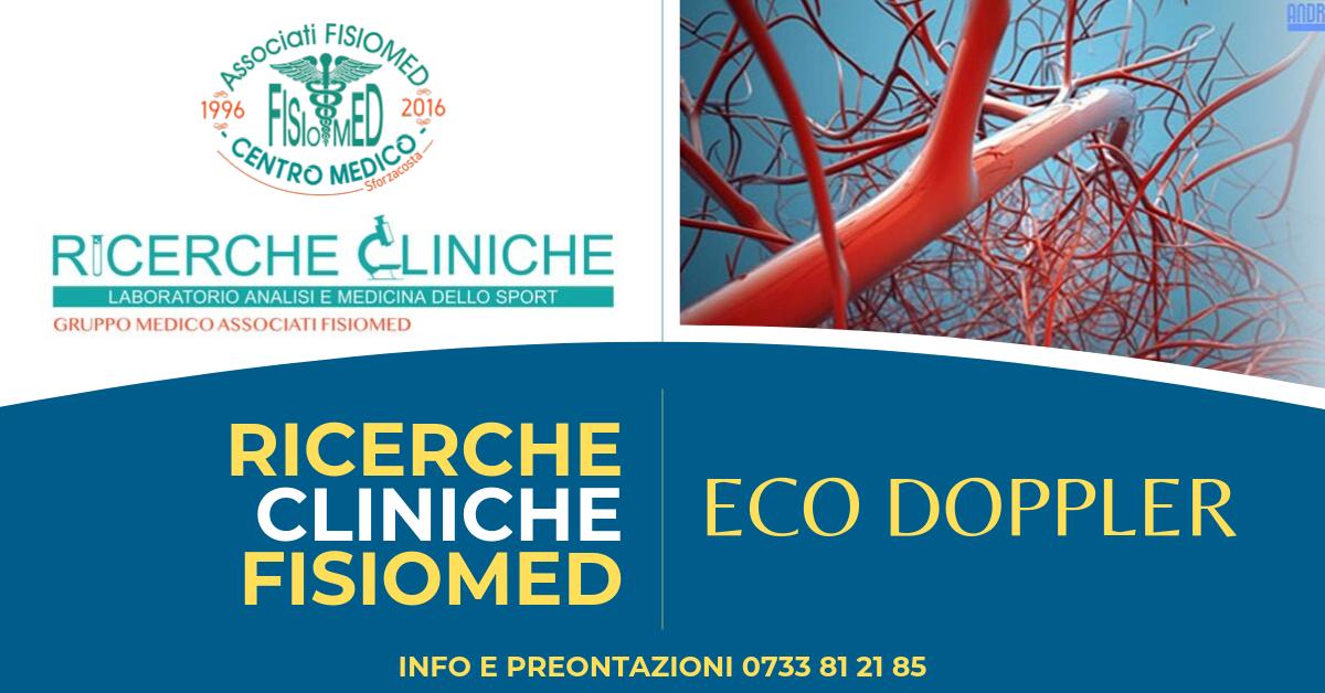 ecodoppler civitanova ricerche cliniche fisiomed